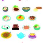 食べ物シール