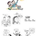 イエマガ連載「家づくり日々勉強!」のイラスト